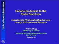 Enhancing Access to the Radio Spectrum