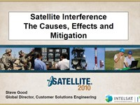 Satellite Interference The Causes, Effects and Mitigation