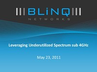 Leveraging Underutilized Spectrum sub 4 GHz