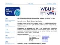 Establishing Carrier ID's for Worldwide Uplinking