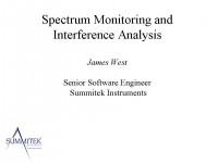 Spectrum Monitoring