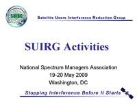 SUIRG Activities
