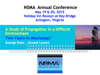 A Study of Propagation in a Difficult Environment - Two Years in Mississippi