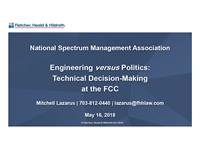 Engineering Versus Politics Technical Decision Making